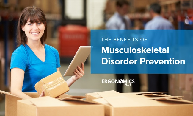 prevention of workplace musculoskeletal disorders Exposures to occupational hazards substantially increase workers' risk of developing musculoskeletal disorders (msds) and can exacerbate pre-existing.