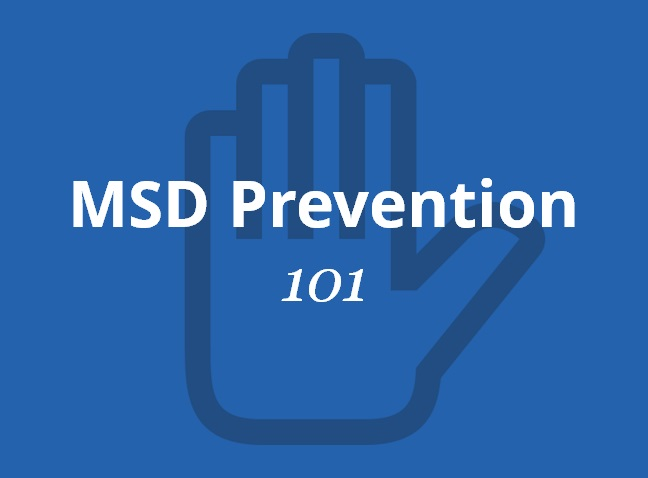 msd prevention Resource manual for msd prevention guideline - infrastructure read more about prevention, hazards, workers, ontario, occupational and manual.