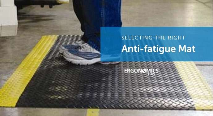 Injury Prevention Tip The Softer The Anti Fatigue Mat
