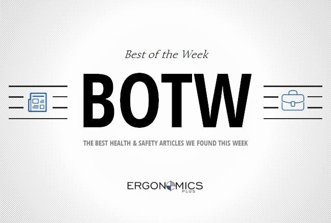 5 Workplace Ergonomics Articles Worth Reading — BOTW (1/17/2014)